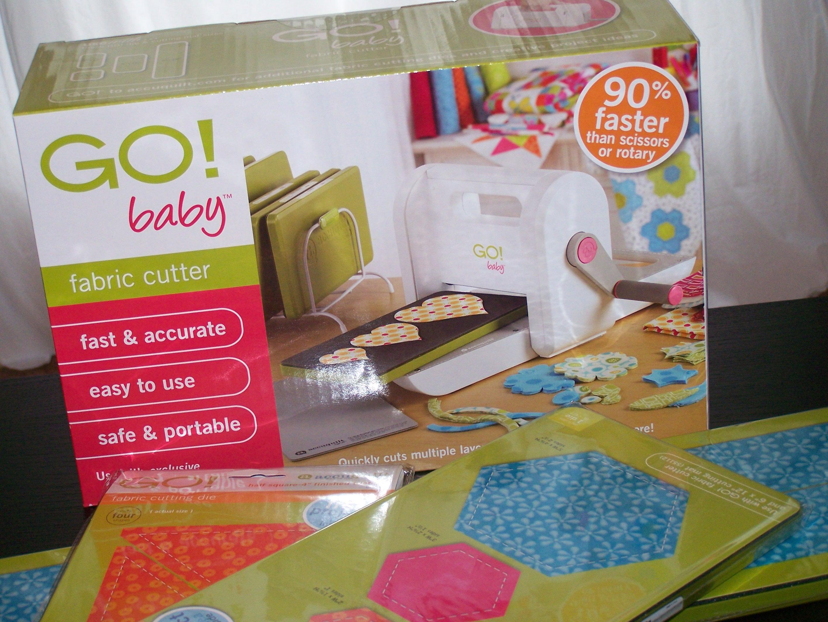 Accuquilt GO! Baby Fabric Cutter Review | Craft Buds : accu quilt go - Adamdwight.com