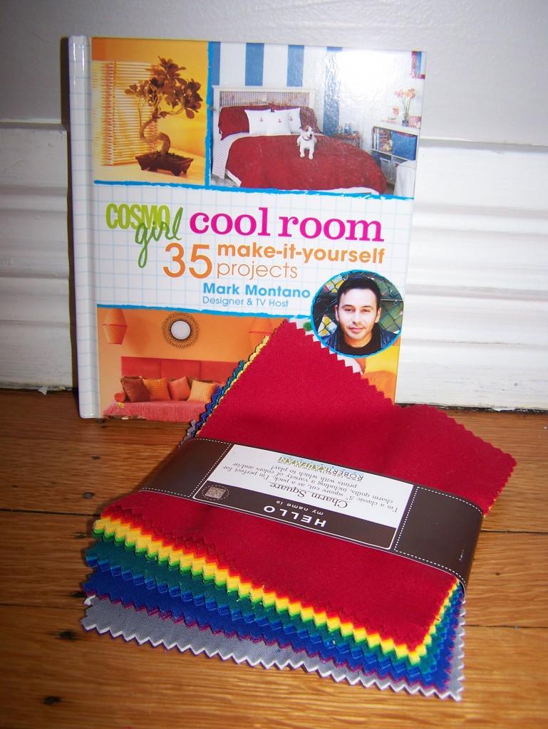 Autographed book + Kona charm pack
