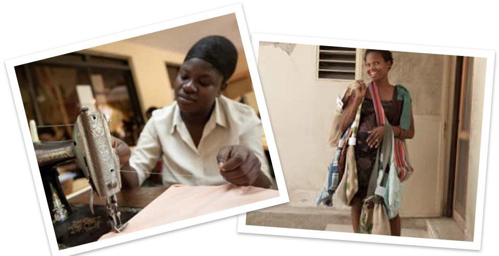 Heartline Haiti collage