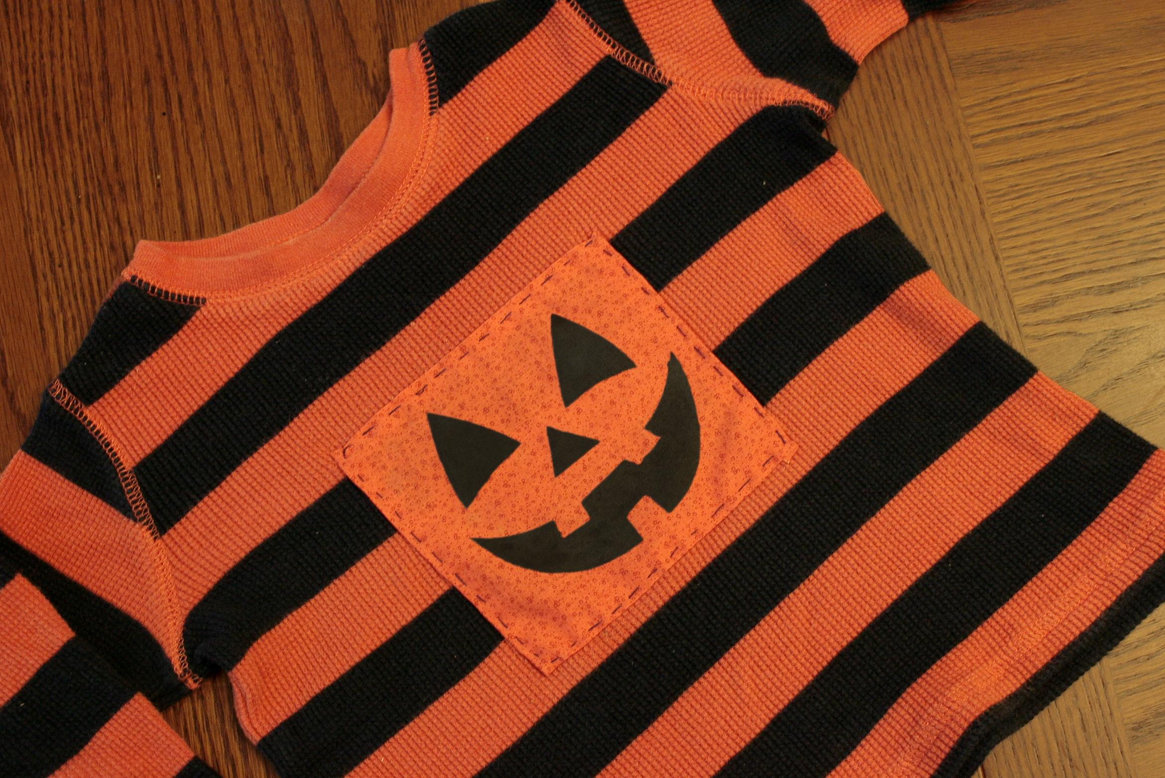 Shirt jack design template - Jack O Lantern Shirt Stencils