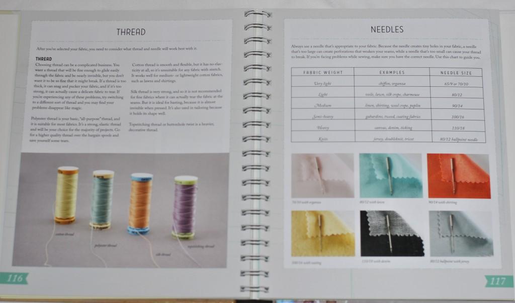Colette Sewing Handbook excerpt