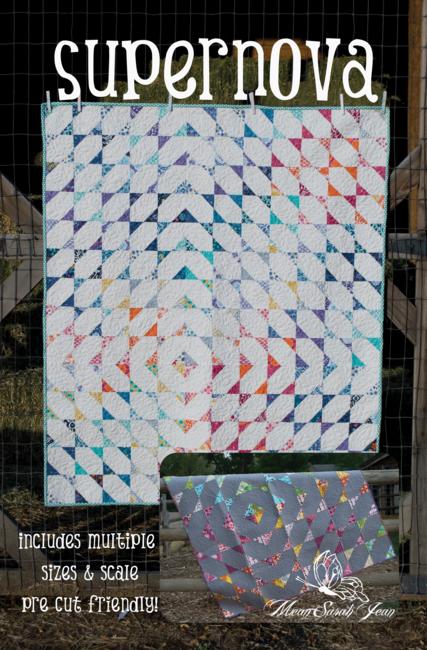 Supernova Quilt Pattern