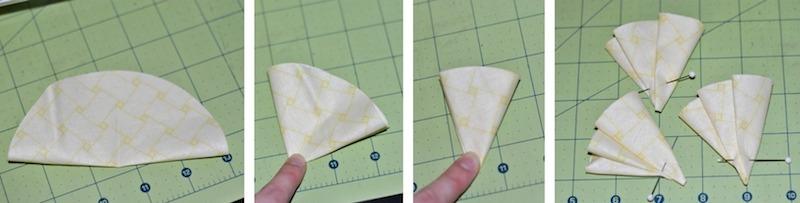 Folding Fabric Petals