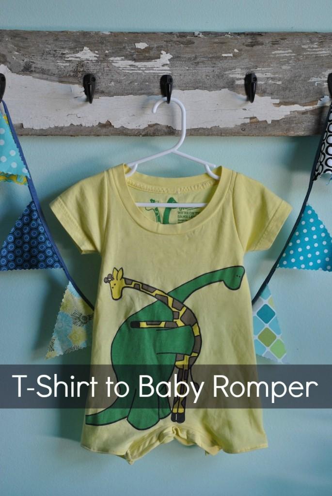 Tshirt-Baby-Romper
