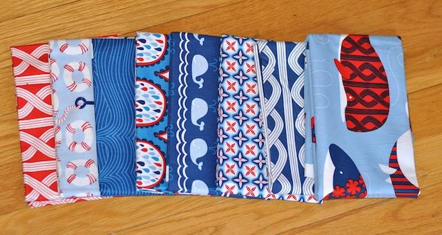 True Blue fabric by Ana Davis for Blend Fabrics