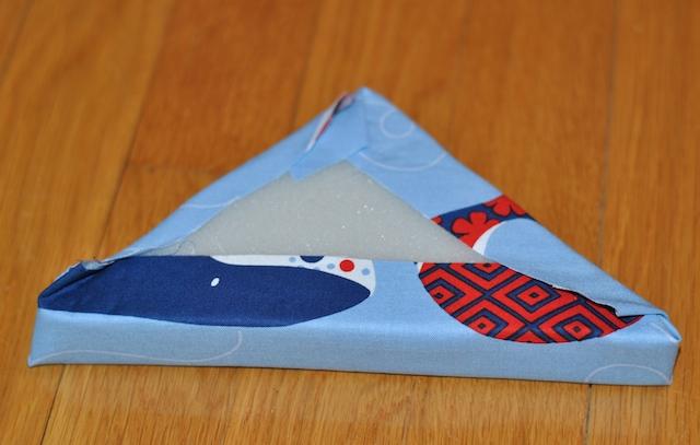 No-Sew Fabric Baby Blocks