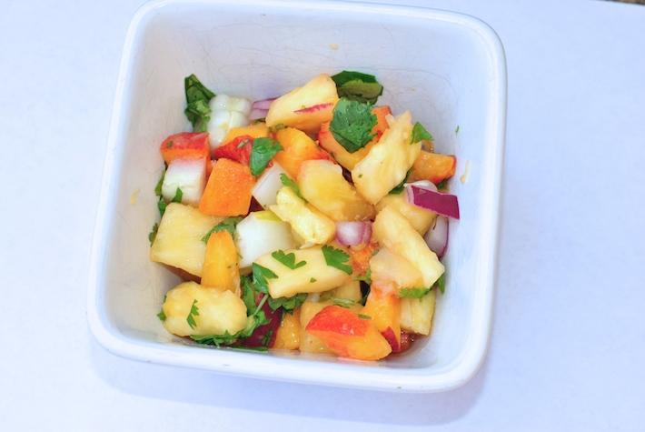 Peach Pineapple Salsa