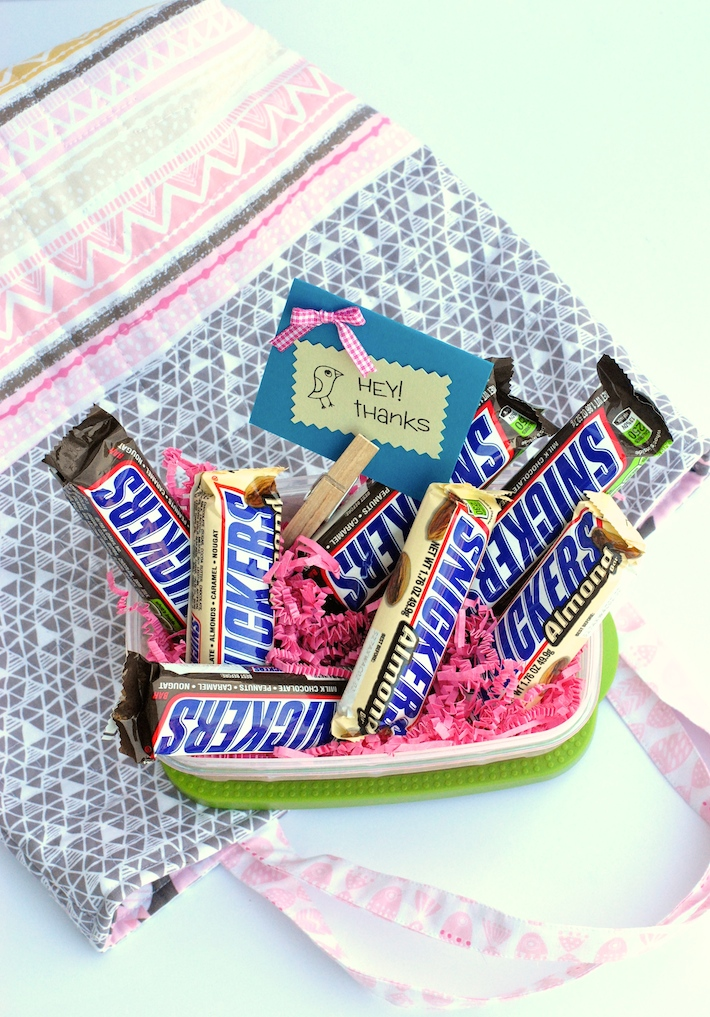 Snickers Teacher Appreciation Gift Basket | Craft Buds