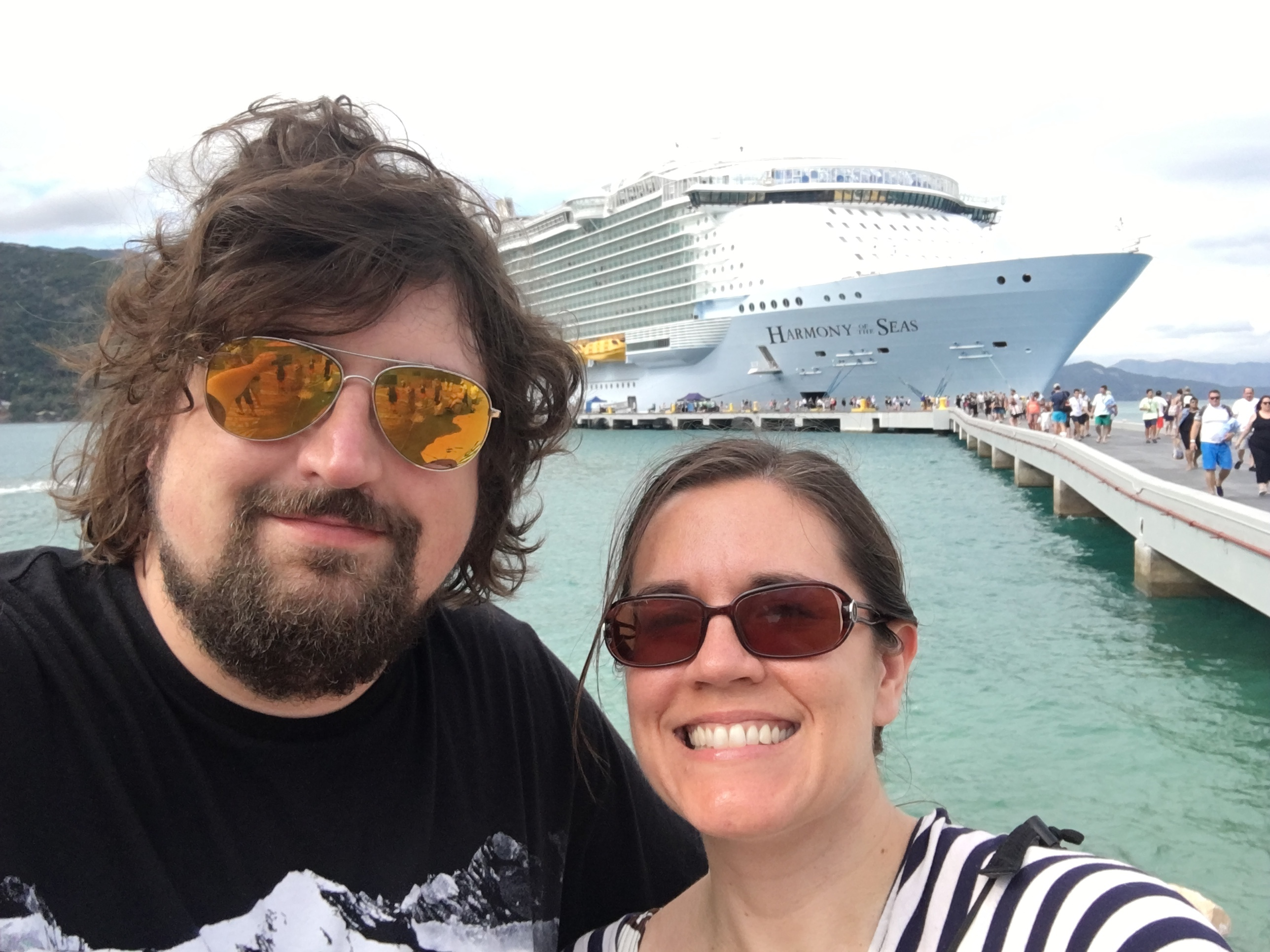 On the Royal Caribbean Harmony of the Seas
