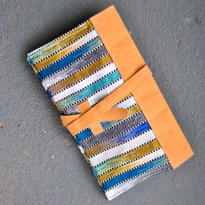 Sew kraft-tex bags, like this clutch | Craft Buds